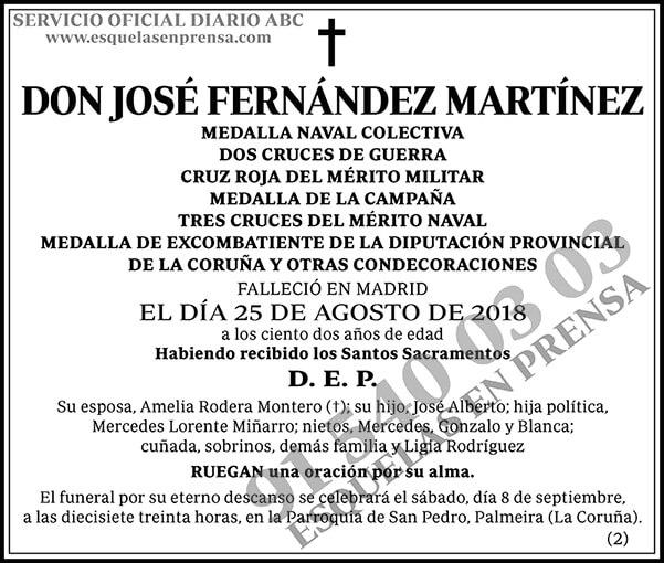 José Fernández Martínez